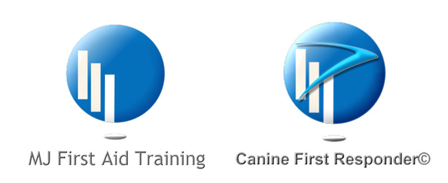 mj first aid training and canine first responder logo